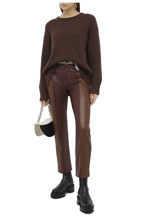 Женский кашемировый свитер FTC коричневого цвета, арт. 800-0170 | Фото 2