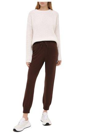 Женский кашемировый свитер FTC белого цвета, арт. 800-0200 | Фото 2