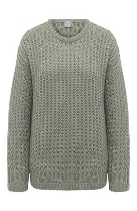 Женский кашемировый свитер FTC зеленого цвета, арт. 800-0200   Фото 1