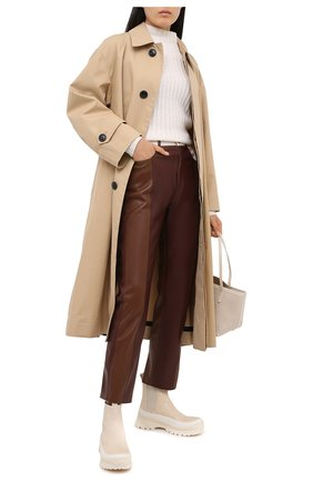 Женский кашемировый свитер FTC белого цвета, арт. 800-0210 | Фото 2