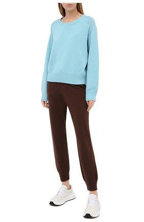 Женский кашемировый свитер FTC голубого цвета, арт. 800-0220   Фото 2