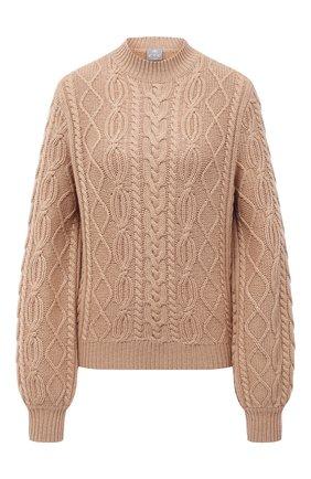 Женский кашемировый свитер FTC бежевого цвета, арт. 800-0480   Фото 1