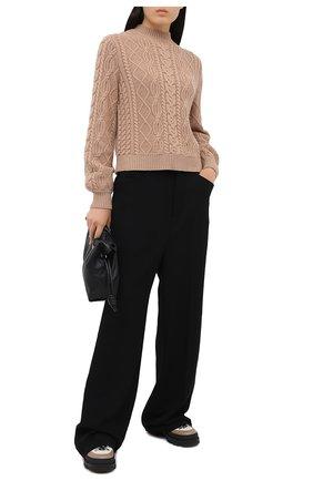 Женский кашемировый свитер FTC бежевого цвета, арт. 800-0480   Фото 2