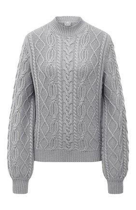Женский кашемировый свитер FTC серого цвета, арт. 800-0480 | Фото 1