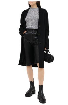 Женский кашемировый свитер FTC серого цвета, арт. 800-0480 | Фото 2