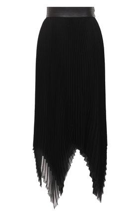Женская юбка LOEWE черного цвета, арт. S359344XBD | Фото 1