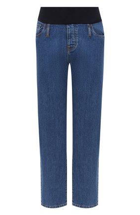 Женские джинсы PIETRO BRUNELLI синего цвета, арт. JP0MUM/DE0096 | Фото 1