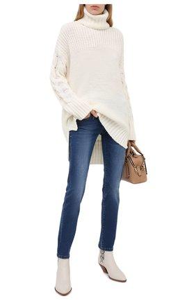 Женские джинсы PIETRO BRUNELLI синего цвета, арт. JPSC50/DE0084 | Фото 2