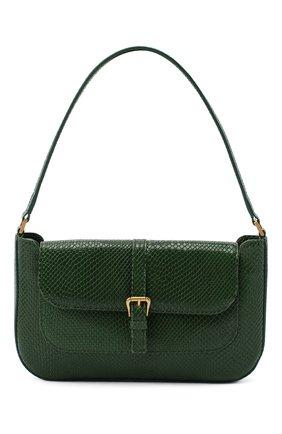 Женская сумка miranda BY FAR зеленого цвета, арт. 20PFMDASEMRMED | Фото 1