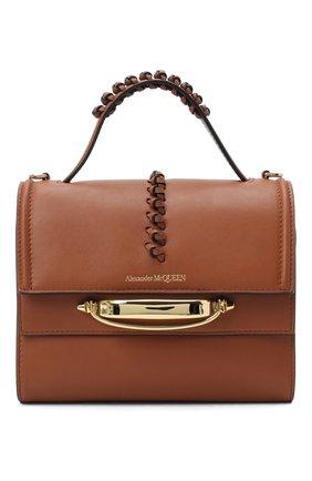 Женская сумка tall story ALEXANDER MCQUEEN коричневого цвета, арт. 619746/1X3CT | Фото 1