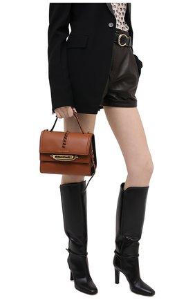 Женская сумка tall story ALEXANDER MCQUEEN коричневого цвета, арт. 619746/1X3CT | Фото 2