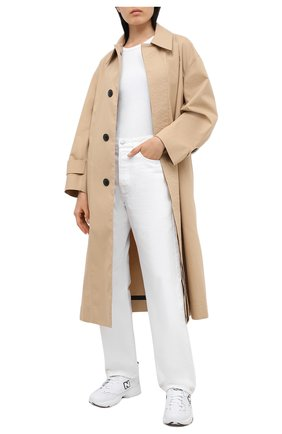 Женские комбинированные кроссовки 608 NEW BALANCE белого цвета, арт. MX608WT/D | Фото 2