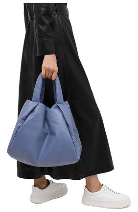 Женский сумка GIORGIO ARMANI голубого цвета, арт. Y1D130/YTH7A | Фото 2