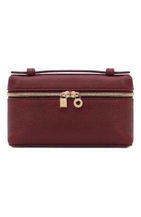 Женская поясная сумка extra pocket l16 LORO PIANA бордового цвета, арт. FAI8396 | Фото 1