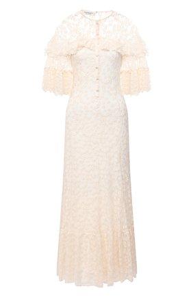 Женское платье-макси PHILOSOPHY DI LORENZO SERAFINI кремвого цвета, арт. A0423/5727 | Фото 1