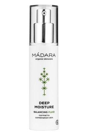 Женское глубоко увлажняющий флюид deep moisture MADARA бесцветного цвета, арт. A2211 | Фото 1