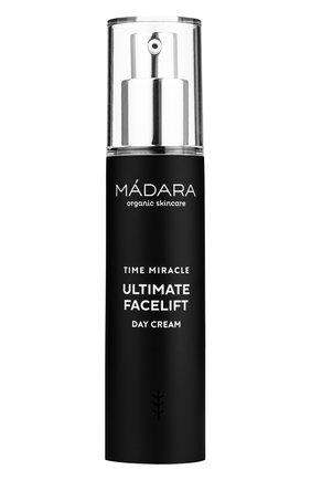 Женское дневной крем time miracle ultimate facelift MADARA бесцветного цвета, арт. A3162 | Фото 1