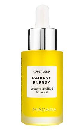Женское масло для лица superseed radiant energy MADARA бесцветного цвета, арт. A2602 | Фото 1