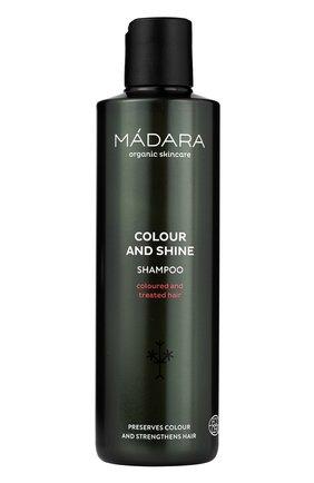 Женский шампунь для волос colour & shine MADARA бесцветного цвета, арт. A4002 | Фото 1