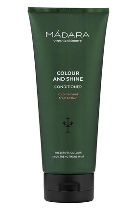 Женский кондиционер для волос colour & shine MADARA бесцветного цвета, арт. A4052 | Фото 1