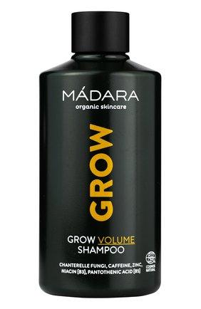 Женский шампунь для волос для стимуляции роста волос grow volume MADARA бесцветного цвета, арт. A4071 | Фото 1