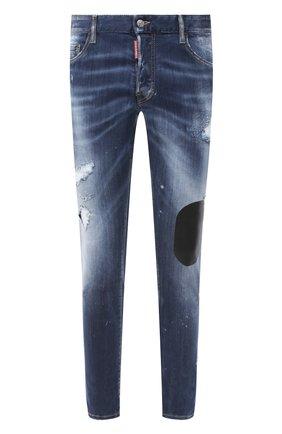 Мужские джинсы DSQUARED2 синего цвета, арт. S74LB0805/S30708 | Фото 1