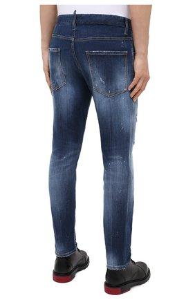 Мужские джинсы DSQUARED2 синего цвета, арт. S74LB0805/S30708   Фото 5