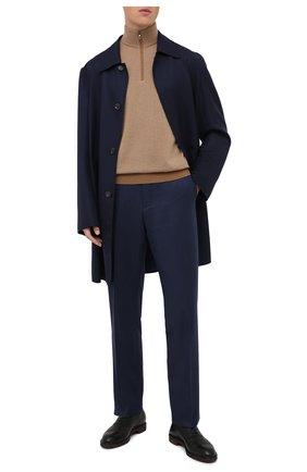 Мужские кожаные оксфорды MORESCHI черного цвета, арт. 43548/EM/GI0VE/F.NAPPA | Фото 2