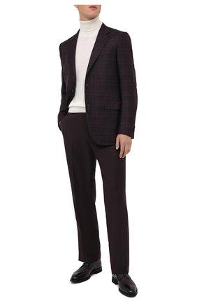 Мужской кожаные дерби BARRETT бордового цвета, арт. 111U016.38/BETIS CREAM | Фото 2