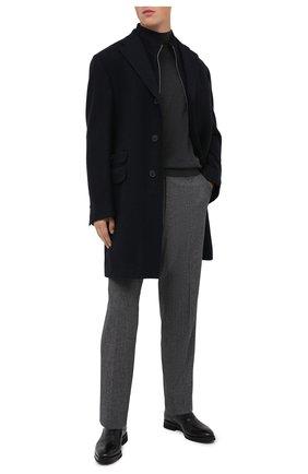 Мужские кожаные оксфорды BARRETT черного цвета, арт. 192U065.9/BETIS CREAM | Фото 2