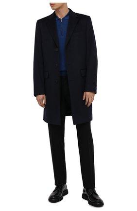 Мужской кожаные дерби BARRETT черного цвета, арт. BASTIA-006.3/SPAZZ0LAT0 | Фото 2