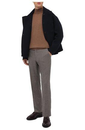 Мужской кожаные дерби BARRETT бордового цвета, арт. RUSH-014.33/SPAZZ0LAT0 | Фото 2