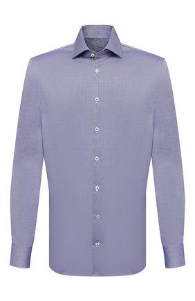 Мужская хлопковая сорочка VAN LAACK синего цвета, арт. RIVARA-SFN/150142 | Фото 1