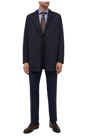 Мужская хлопковая сорочка VAN LAACK синего цвета, арт. RIVARA-SFN/150142 | Фото 2