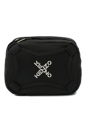 Мужская текстильная сумка kenzo sport KENZO черного цвета, арт. FA65SA218F21 | Фото 1