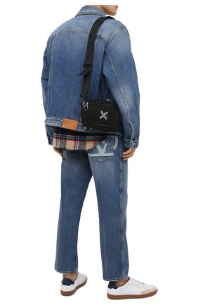 Мужская текстильная сумка kenzo sport KENZO черного цвета, арт. FA65SA218F21 | Фото 2