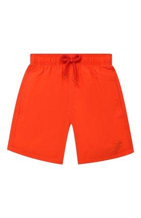 Детские плавки-шорты VILEBREQUIN красного цвета, арт. JIMU0D08/193 | Фото 1