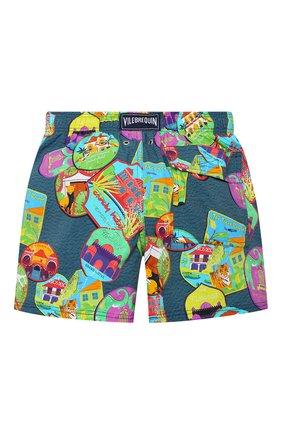 Детские плавки-шорты VILEBREQUIN разноцветного цвета, арт. JIIU0F03/342 | Фото 2