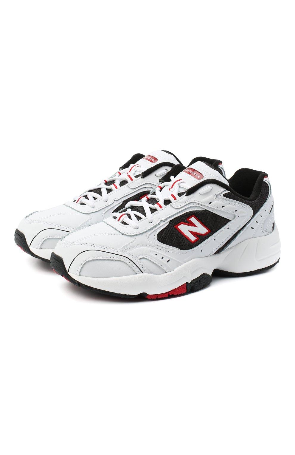 Мужские кроссовки 452 NEW BALANCE белого цвета, арт. MX452SD/D   Фото 1