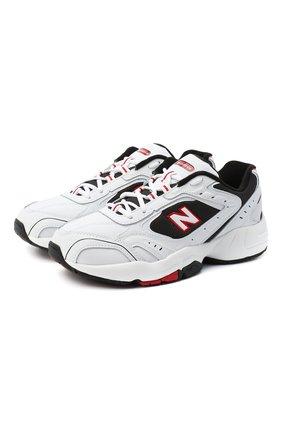 Мужские кроссовки 452 NEW BALANCE белого цвета, арт. MX452SD/D | Фото 1
