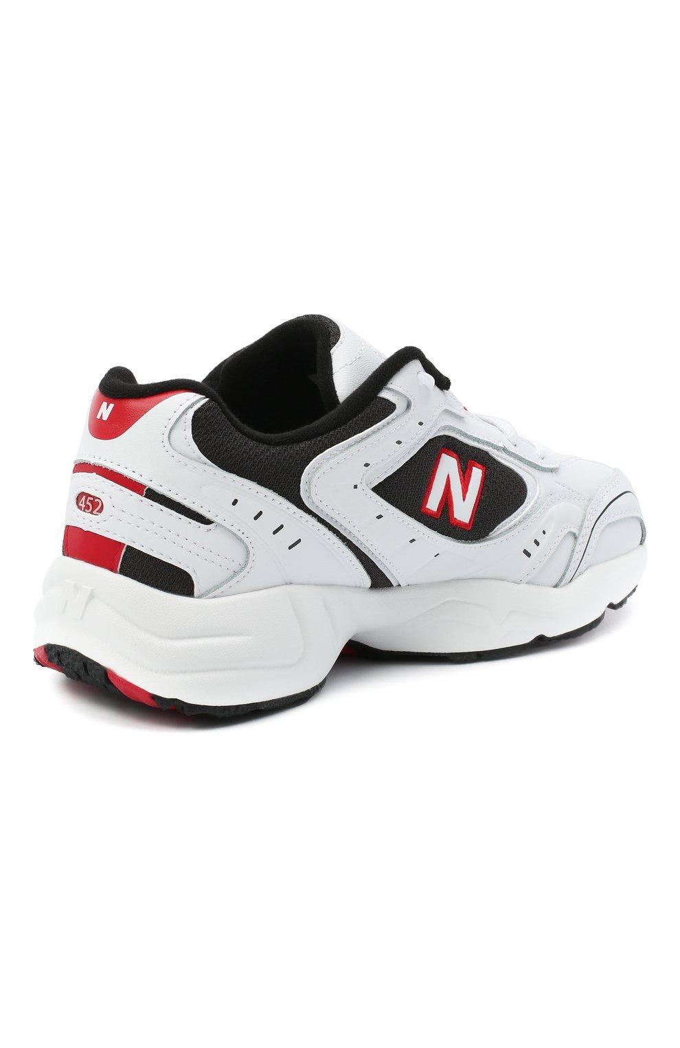 Мужские кроссовки 452 NEW BALANCE белого цвета, арт. MX452SD/D   Фото 4