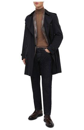Мужские кожаные ботинки W.GIBBS темно-коричневого цвета, арт. 0105002/2243 | Фото 2