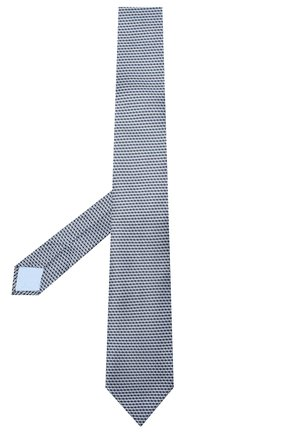Мужской комплект из галстука и платка BRIONI голубого цвета, арт. 08A900/0940C   Фото 2 (Материал: Текстиль)