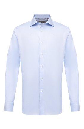 Мужская хлопковая сорочка CANALI голубого цвета, арт. N758/GR01592   Фото 1
