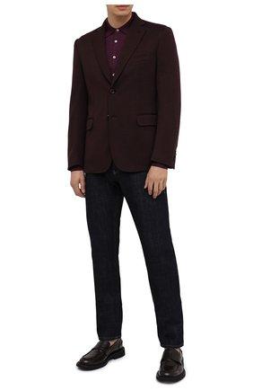 Мужская шерстяная рубашка CANALI бордового цвета, арт. C0761/MK00077 | Фото 2