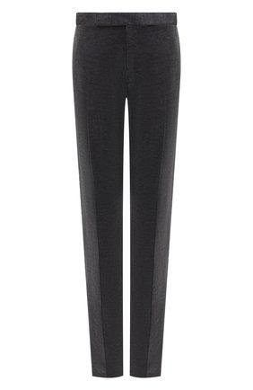 Мужской хлопковые брюки RALPH LAUREN серого цвета, арт. 798783842 | Фото 1