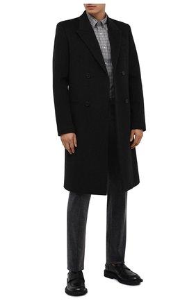 Мужской хлопковые брюки RALPH LAUREN серого цвета, арт. 798783842 | Фото 2
