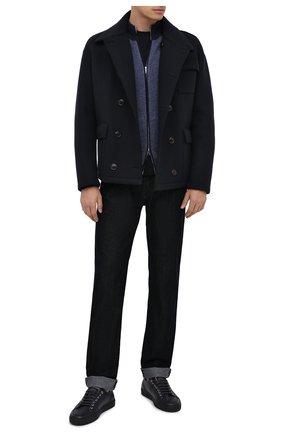 Мужские джинсы GIORGIO ARMANI темно-синего цвета, арт. 6HSJ63/SN56Z | Фото 2