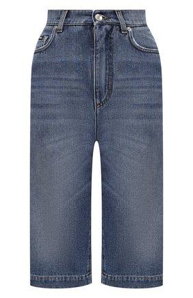 Женские шорты DOLCE & GABBANA синего цвета, арт. FTBYMD/G8DI7 | Фото 1