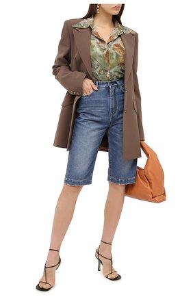 Женские шорты DOLCE & GABBANA синего цвета, арт. FTBYMD/G8DI7 | Фото 2